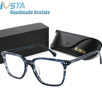 IVSTA Square Prescription Glasses Computer Men Acetate Frame OV 5031 Johnny Depp Anti Blue Light NDG Myopia Optical Spectacles