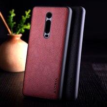 Per il caso di Xiaomi Mi 9t redmi K20 pro funda di Lusso Dellannata di cuoio del litchi della copertura della pelle di TPU + PC del telefono per il caso di xiaomi mi 9t mi9t
