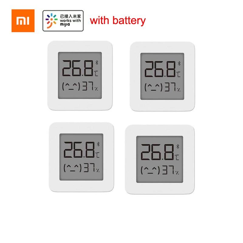 Bluetooth-термометр XIAOMI Mijia 2, беспроводной умный электрический цифровой гигрометр, термометр, работает с приложением Mijia