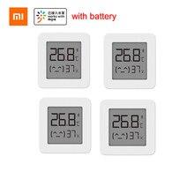 Xiaomi mijia bluetooth termômetro 2 sem fio inteligente elétrico digital higrômetro termômetro trabalhar com mijia app