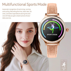 Image 5 - M8 Women Smart Watch IP68 Waterproof Lady Band Heart Rate Monitor Fitness Tracker Bracelet Smartwatch Android IOS