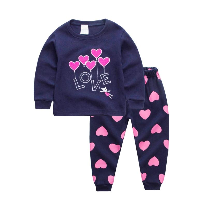 TUONXYE Children Pajamas Excavator Car Pyjamas Set Kids Pijama Infantil Boys Nightwear Cotton Girls Long Sleeve Sleepwear Suit 6