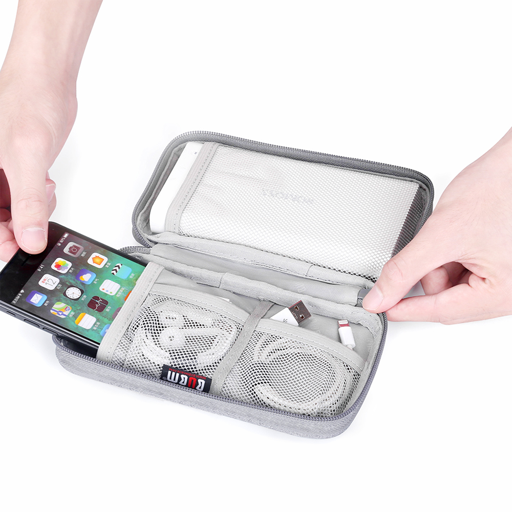 Travel Storage Bag Electronics Accessories USB Charger Case Data Cable Organizer