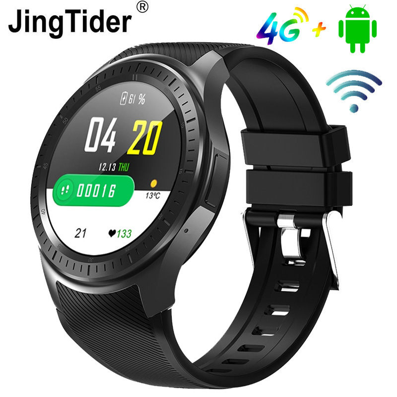 DM368 Plus MTK6739 Quad Core <font><b>4G</b></font> Smart Watch 16GB Rom Android 7.1 <font><b>Smartwatch</b></font> Heart Rate Monitor GPS Wifi Bluetooth 1.3 inch Watch image