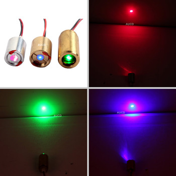 TECH Blue 450nm Red 650nm 100mW Green 50mW 532nm RGB Dot Lights Laser Module Diode For DPSS Projecter Sight Stage Light Mod Part 532nm 50mw green laser 650nm 200mw red laser dot module 12v w driver