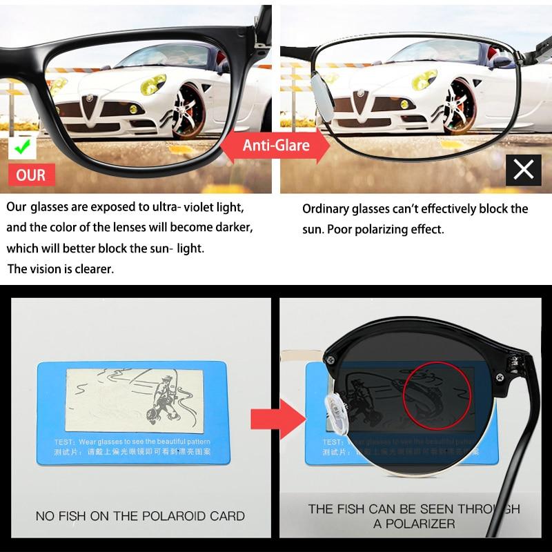 2-Мужские поляризованные солнцезащитные очки SIMPRECT, винтажные круглые солнцезащитные очки в стиле ретро 2020 с антибликовым покрытием смотреть на Алиэкспресс Иркутск в рублях
