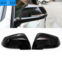 For BMW Series 1 2 3 4 X1 M 220i 328i 420i F20 F21 F22 F23 F30 F32 F33 F35 F36 X1 E84 M2 F87 1 Pair Rearview Mirror Cover Cap universal replacement carbon fiber mirror cover for bmw rearview door mirror covers x1 f20 f22 f30 gt f34 f32 f33 f36 m2 f87 e84