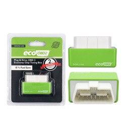 Free Shipping 10Pcs Nitro lot Nitro OBD2 Chip Tuning Box Car Fuel Save EcoOBD2 for Benzine Cars Gasoline Fuel Saving 15% Fuel