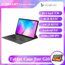 """Teclast T30 Tablet 10.1 """"Andriod 9.0 4G di Chiamata di Telefono 1920x1200 MTK P70 4GB di RAM 64GB di ROM 8000mAh Doppia Fotocamera GPS Tipo C Compresse PC"""