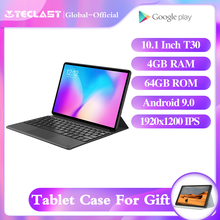 "Teclast T30 Tablet 10.1 ""android 9.0 4G telefon 1920x1200 MTK P70 4GB RAM 64GB ROM 8000mAh podwójny aparat GPS type c tablety PC"