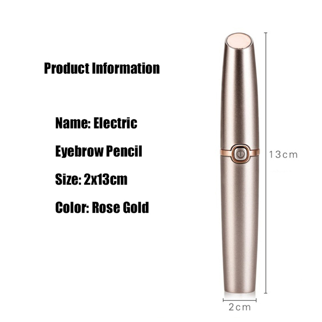 USB Electric Eye Brows Epilator Eyebrow Trimmer Mini Painless Eye Brow Epilator For Women Eyebrow Trimmer Mini Shaver Razors 1