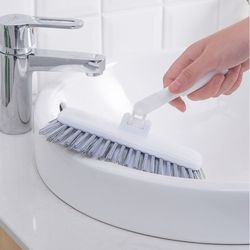 Szczotka długa rączka łazienka trwały maszt aluminiowy rozciągliwe płytki obrotowe szczotki narożne ubikacja narzędzia do czyszczenia podłóg|Szczotki do czyszczenia|Dom i ogród -