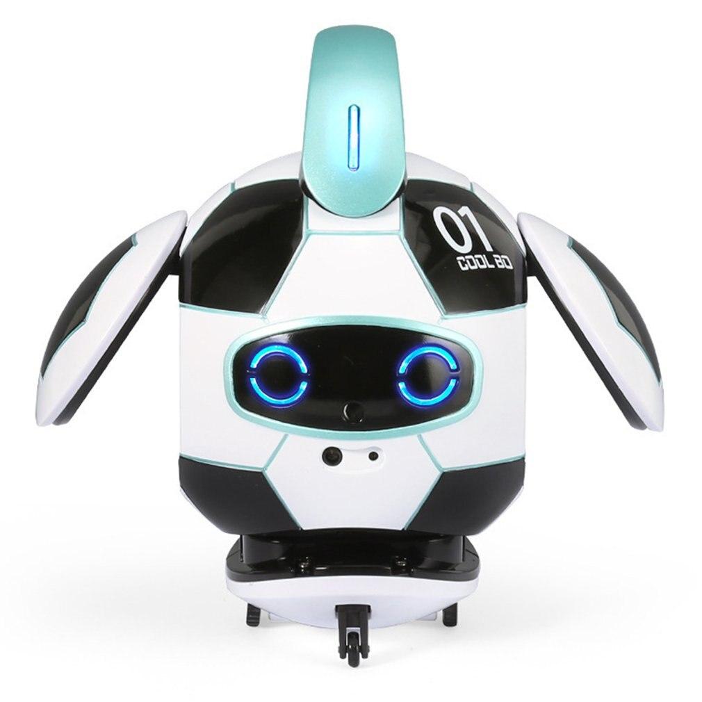 Ball Robot AI Robotic Voice Recognition Version Robot Dancing Singing Gesture Sensing Recording Robot Toys Children
