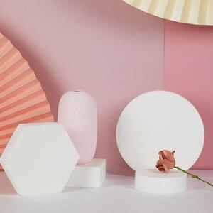 Кубик реквизит для фотосъемки в стиле Ins белый геометрический стерео реквизит для фотосъемки позирующий орнамент стол для фотостудии