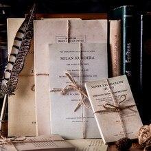 Lot de 50 pages de vieux livre anglais, papier de fond artisanal décoratif Vintage pour Scrapbooking, planificateur de Journal intime
