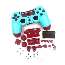 Замена корпуса геймпада DIY контроллер Корпус чехол для Sony PS4 контроллер заряда 4 аксессуары