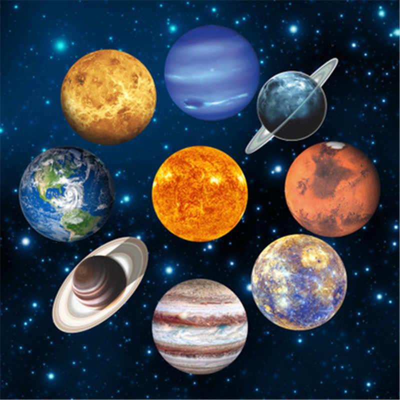 Autocollants muraux espace Soleil Planet Earth Cool Chambre Filles Garçons Chambre Enfants F741