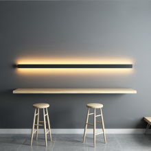 Minimalist Creative Long Wall Lamp Modern LED Background Wall Lamp  Living Room Bedside Aluminum  Wall light Ligting Sconce