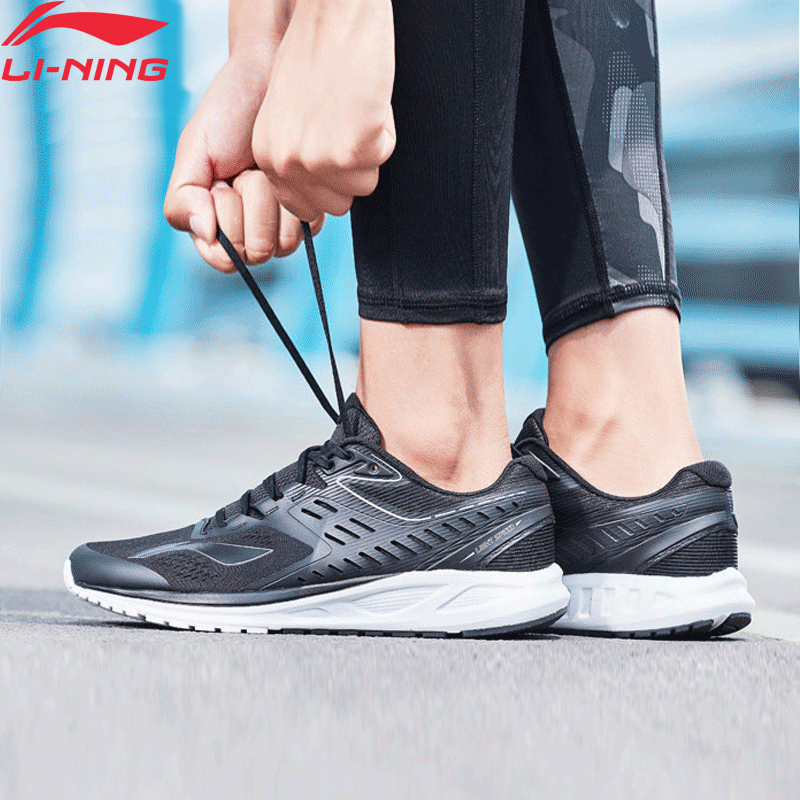 Li-Ning Men FLASH Running Shoes Cushion Wearable LiNing Li Ning Sport Shoes Breathable Comfort Fitness Sneakers ARHN017 XYP669