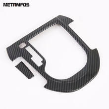 For Kia Forte Cerato k3 2019 2020 Carbon Fiber Gear Shift Box Cover Trim Molding Decoration Frame Inner Accessories Car Styling