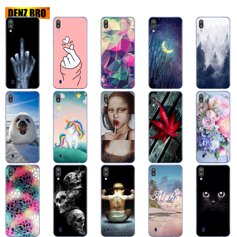 For Samsung Galaxy M10 Cases Galaxy M10 M105f Cover Soft TPU Silicone Phone Back Cover For Samsung Galaxy M10 Case Bumper Coque