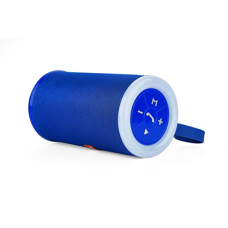 Портативный bluetooth динамик наружный водонепроницаемый светодиодный