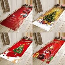 Christmas mat ,Christmas holiday mat, Christmas party mat, home flannel Anti-Slip absorbent soft mat pebble series flannel printing home anti slip absorbent entry mat bathroom mat door mat bedside mat