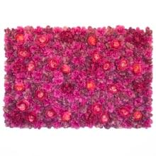 Flower Panels 60cmX40cm Wall  Artificial Flowers Romantic Floral Backdrop Wedding Decor Photo Photography Background