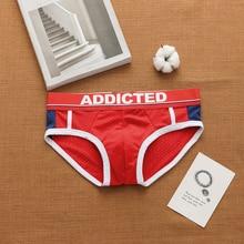 Dropshipping Men Underwear Male Underpants Bikini Pant Laagbouw Mannen Ondergoed Comfortabel Ademend Slips