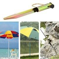 Terra grandes unhas pesca guarda-chuva archer jardim ao ar livre guarda-chuva de viagem ferro sol praia guarda-chuva acessórios