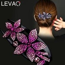 Женская акриловая заколка для волос levao пряжка в виде цветка
