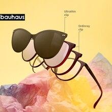 X3173 Polarized Magnet Clip On Sungasses Women Retro Cat Eye Prescription Sun Glasses For Women UV400 Myopia Optical Eyeglasses