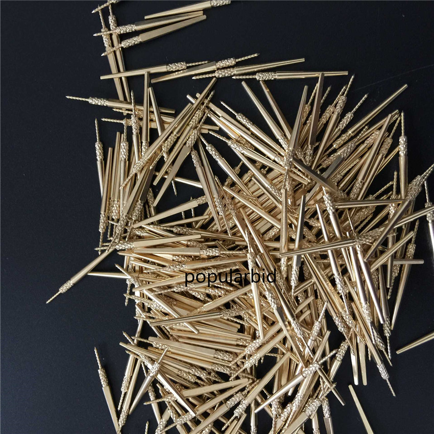 1000PCS NEW #3 DENTAL LAB BRASS DOWEL STICK PINS #3