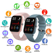 2020 Горячая продажа full touch p8 Смарт часы для мужчин и женщин