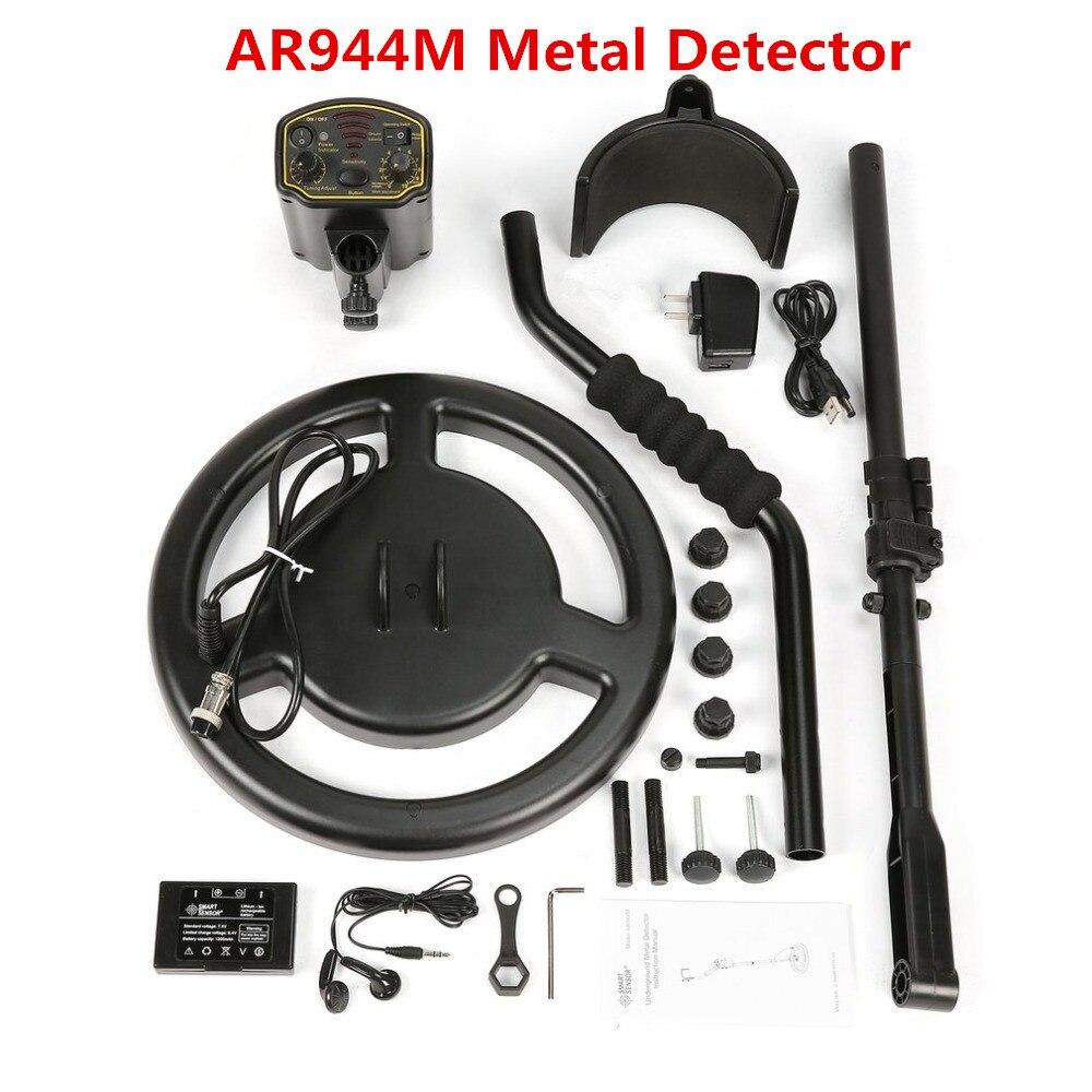 Ar944m détecteur de diamants en or ar 944 machine de recherche détecteur de métaux souterrain scanner testeur longue portée kit de profondeur gem AR944 - 6