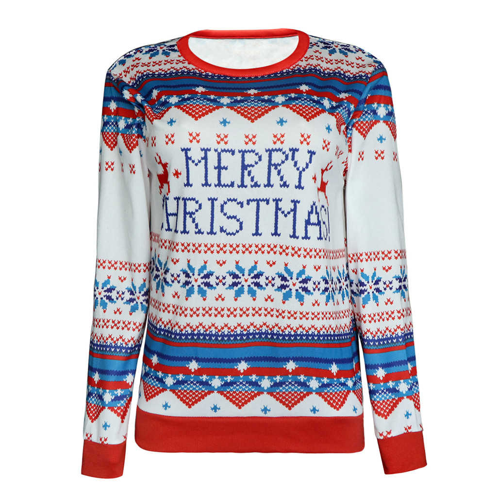 JAYCOSIA Plus Size Jumper Sweaters New cute Patterned Christmas Sweaters Tops For Women Tops Slim Fit Pullover 1016