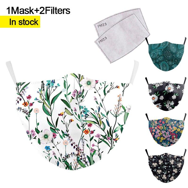Mouth Mask Cute Pm2.5 Anti Haze Mouth Mask Anime Caroon Printing Masks Bacteria Proof Flu Masks Washable