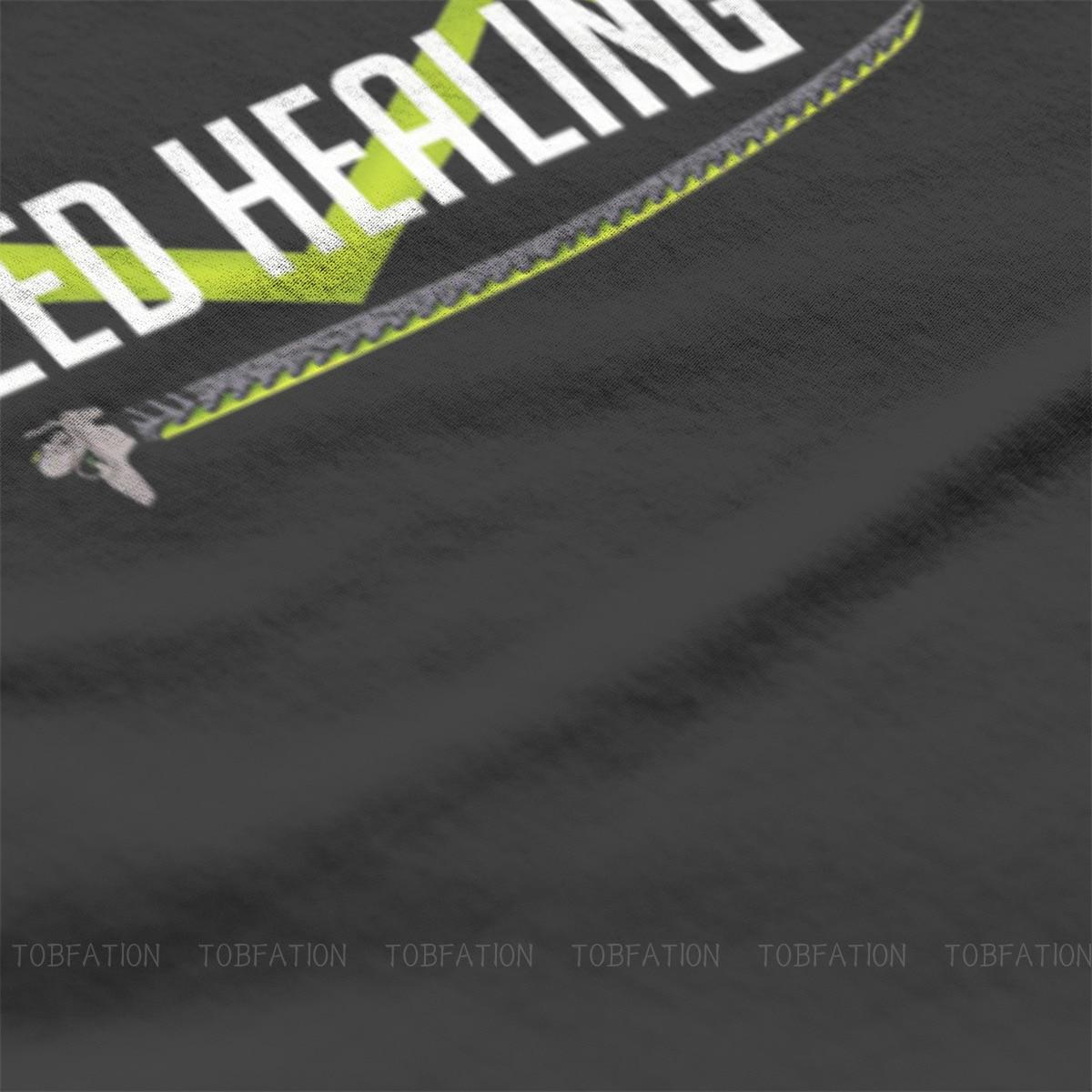 I need healing O Neck TShirt Overwatch Fabric Basic T Shirt Man's Tops New Design Oversized 1