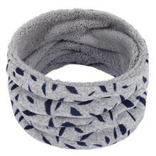 New Winter Plush Scarf For Women Men Warm Children Baby Scarf Knitted Thickened Wool Collar Scarves Boys Girls Neck Scarf Unisex