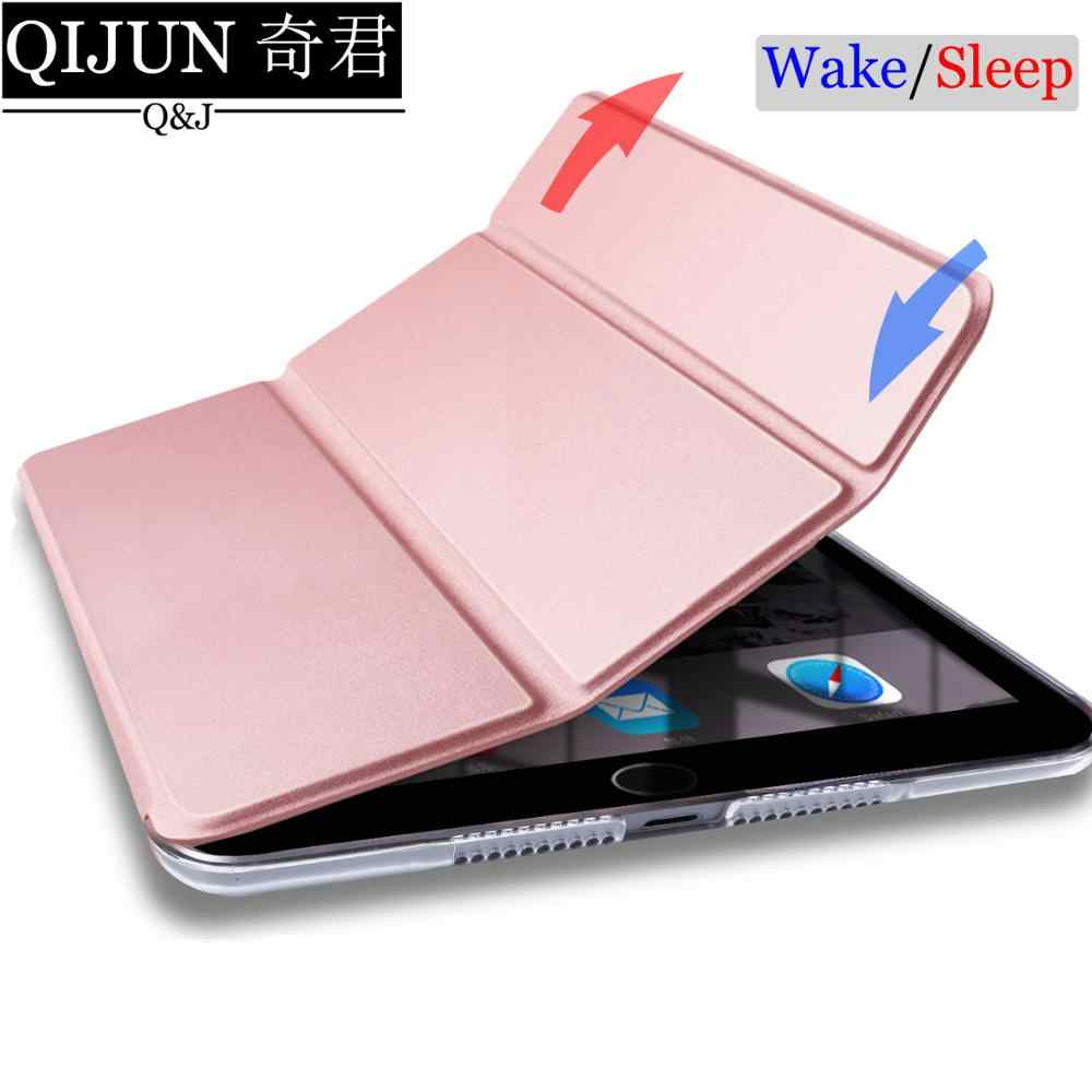 "Tablet case voor Samsung Galaxy Tab EEN 10.1 ""2019 Leather Smart Sleep wake funda Trifold Stand Solid cover capa voor SM-T510/T515"