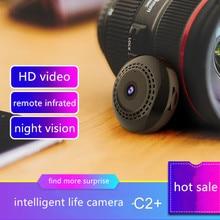 C2+ minicamera in mini camcorders WIFI ip remote surveillance camera With Motion Sensor HD Tiny Microcamera Miniature BLACK