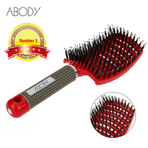 Original Abody Hair Brush Magic Hair Comb Detangling Hair Brush Detangle Lice Massage Comb Women Tangle Hairdressing Salon(China)