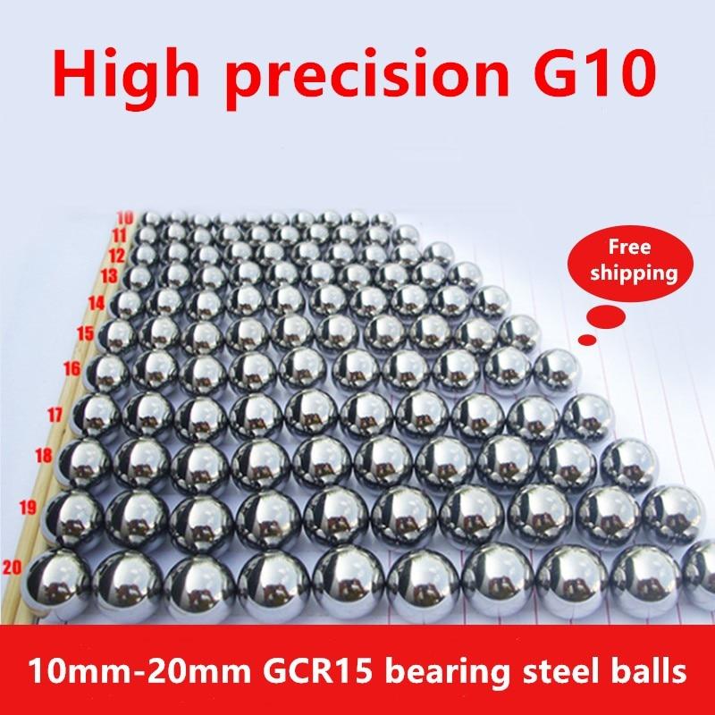 1kg Precision G10 Steel Balls 10 11.113 11.5 12.7 13.5 14.288 15.875 16.669 17.463 18.256 19.844 20 Mm Bearing Steel Ball Bead