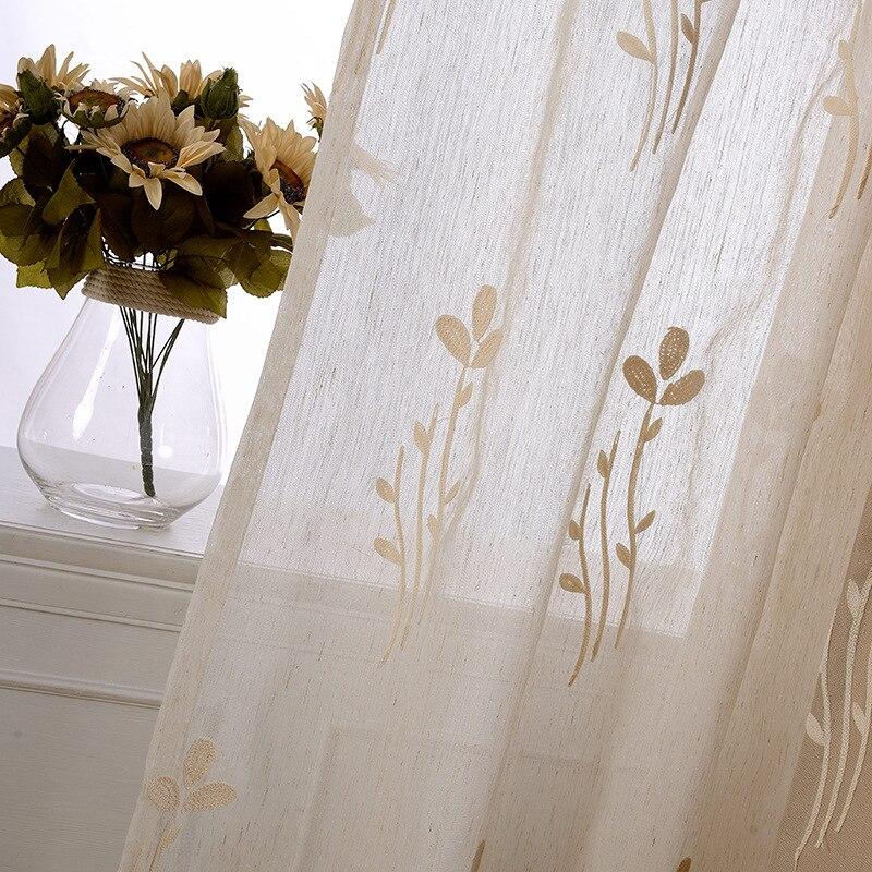 Купить шторы для гостиной с встряхивающимися цветами современные простые