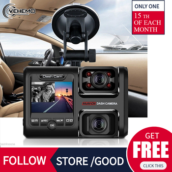Car Camera ADAS GPS Night Vision WiFi Rotating Lens Dash Cam Loop Recording 360° Gravity Sensor Driving Recorder image