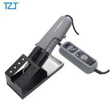 TZT YIHUA 938D المحمولة الساخن الملقط محطة لحام صغيرة 110 فولت/220 فولت ل BGA مصلحة الارصاد الجوية
