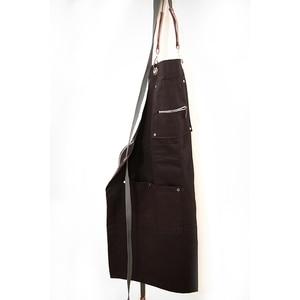 Image 4 - 2020 moda Unisex fartuch kawiarnia fartuch roboczy gotowanie przeciwporostowe fartuchy odzież robocza bez rękawów odzież do pracy