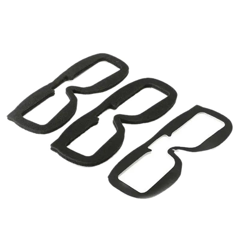 3Pcs/Set for FatShark HD3 HD2/V2 V3 V4 Video Glasses Sponge Block Replacement Parts Foam for FPV Goggles Accessories