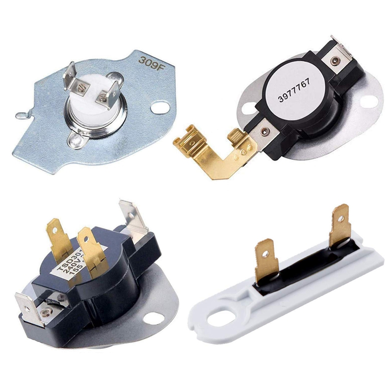 Dryer Replacement Kit 3387134 High-Limit Thermostat 3392519 Dryer Thermal Fuse 3977393 Thermal Cut-Off Switch 3977767 Cycling Th