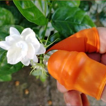 Nowy silikonowy zestaw do wycinania kciuka oszczędzający pracę zbiór roślin narzędzie do zbierania warzyw i owoców narzędzia ogrodnicze #30 tanie i dobre opinie RUBBER